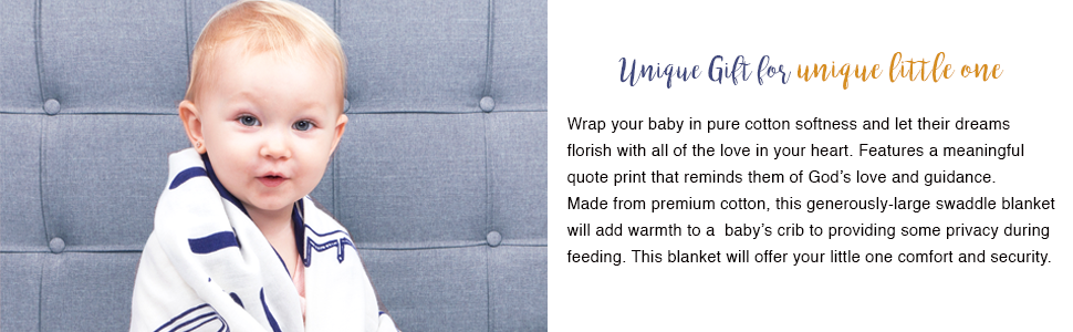 muslin swaddle blanket ,100% cotton, super breathable, soft blanket, hypoallergenic,godchildblanket