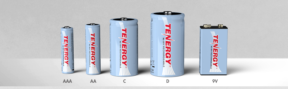 Rechargeable batteries for every day electronics