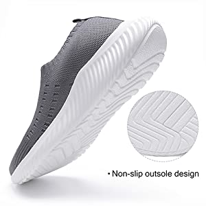 Harence Mens Athletic Running Shoes Comfortable Mesh Breathable Tennis Sneakers Casual Lace Up Sport Gym Walking Shoe