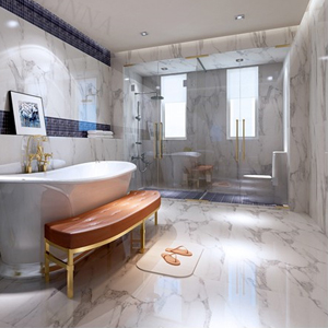 Marble paper for bathroom