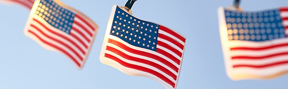 indoor string lights,usa flag string lights,american flag decor,4th july decor,patriotic lights