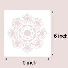 stencil's size