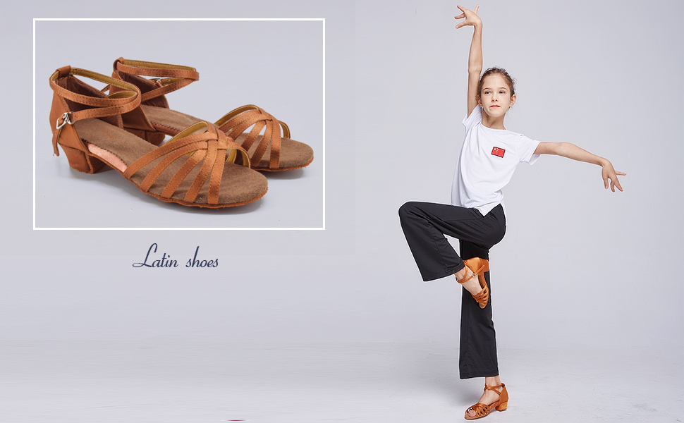 Girls Latin Dance Shoes