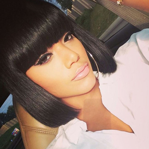 bob wig with bangs for women