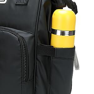 Retractable side pocket