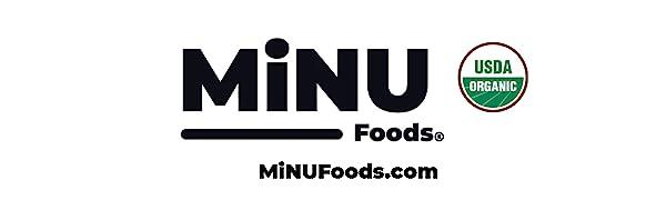 minu foods, minu, organic