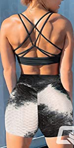 Tie Dye Yoga Shorts