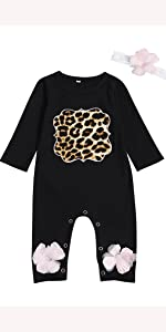 One-Piece Bodysuit Summer Leopard Outfit