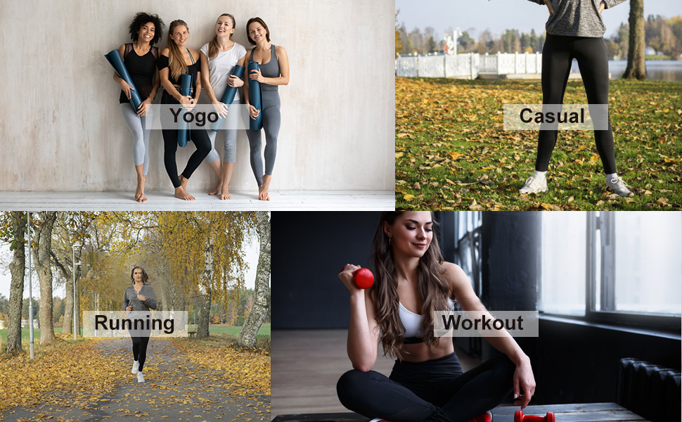 Dress any occasion:Yoga,Casual,Running,Workout