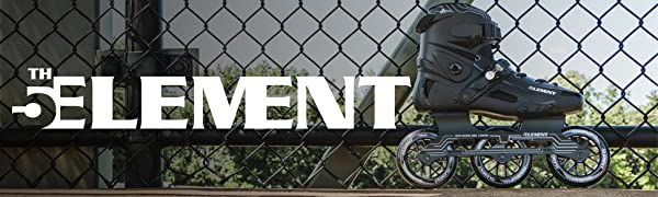 5th element fifth skates inline rollerblade mens