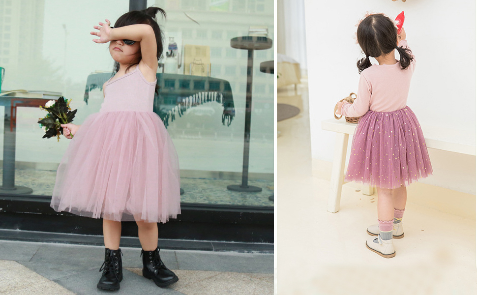 Baby Girl Clothes Toddler Girl Outfits Princess Dress Long Sleeve Tutu Skirts for Little Girls Infant Special Tulle