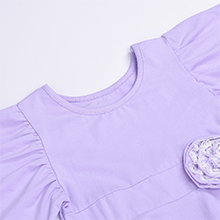 purple dress for girl 3-4y