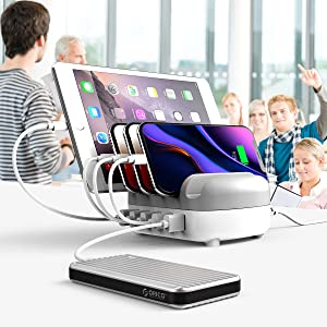 USB Charging Station Dock