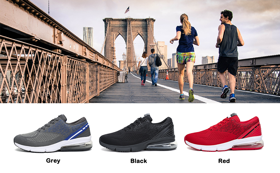 APTESOL Men's Running Shoes Color Display