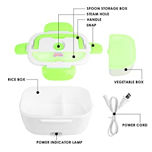 Removable Container Food