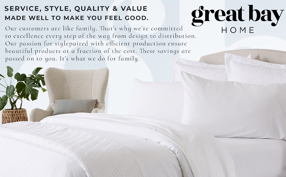 Great Bay Home Bedding Flannel Sheets Flannel Duvet Quilts