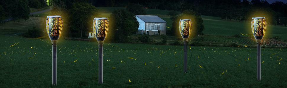 Dusk to Dawn Auto On/Off Security Torch 96 LED Light