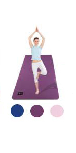 Cambivo Extra Wide TPE Large Yoga Mat