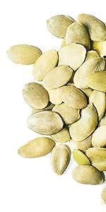 pumpkin seeds, food to live