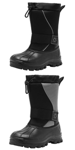 Mens Waterproof Snow Winter Boots for Men