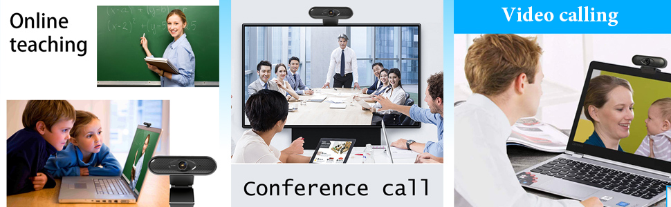 online teaching conference call  video calling