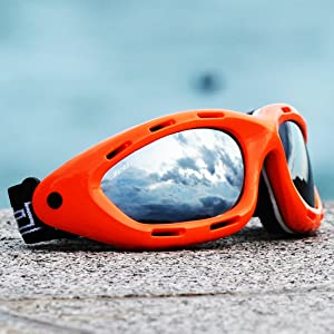 classic water sport pwc floating goggles orange