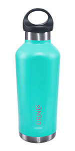 Drinco Stainless Steel Vacuum Insulated Water Bottle Canteen Loop Cap Double Wall Triple Insulated