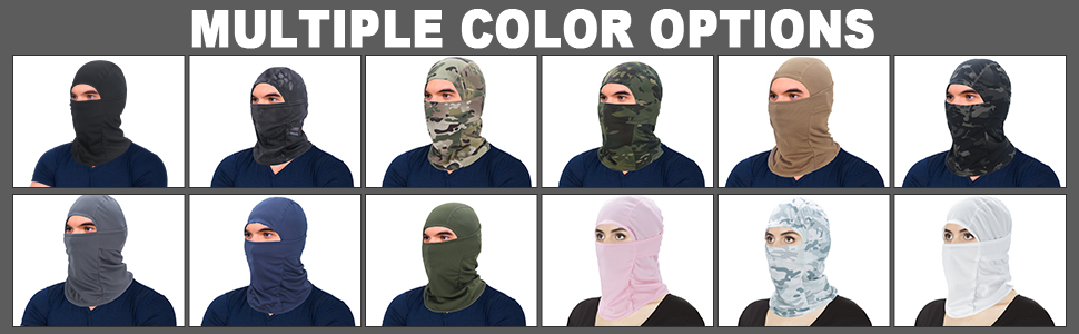 Tactical Mask In Multiple Color Options