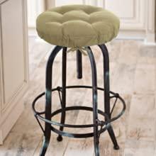 barnett home decor adjustable drawstring yoke bar stool cover barstool cushions fit adjust