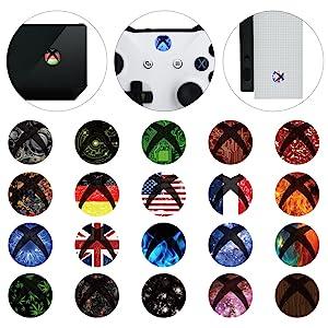 Xbox One Home Button Power Switch Sticker