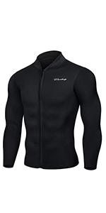 wetsuit top