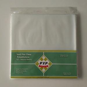 polypropylene LP record sleeve