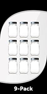 Regular Mouth 16 Ounce Smoothie Jar