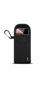 Olixar Phone Sleeve with Carbiner Clip