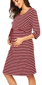 3 4 Short Sleeve night dress