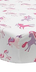 Magic Unicorn Crib Sheet