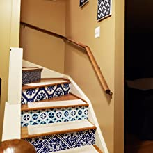 stairs risers ideas decals