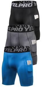 lavento men's compression shorts
