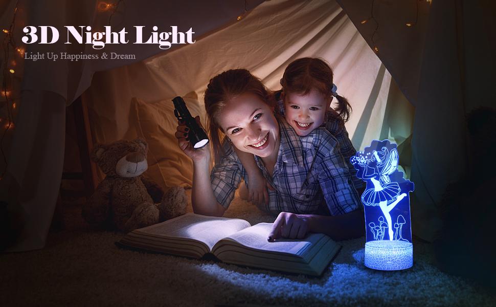 Night Light for Girls