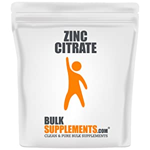 zinc citrate, zinc citrate powder, zinc supplements, zinc supplement, zinc powder