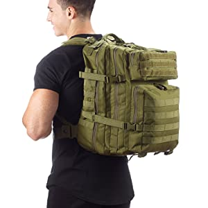 Evertac backpack OD green