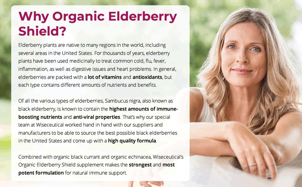Why Organic Elderberry Shield