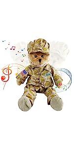 soldier teddy bear