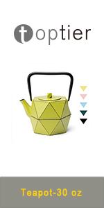 cast iron tea kettle tea pot with infuser for loose tea Japanese teapot set PINK stovetop teapot