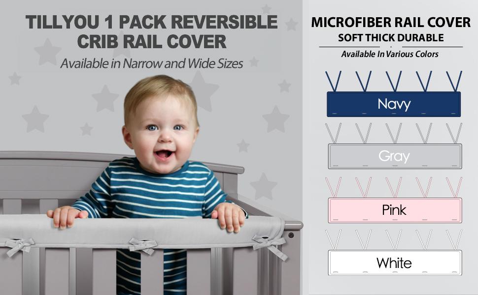 crib rail guard wrap protector