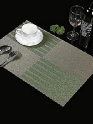 green place mats
