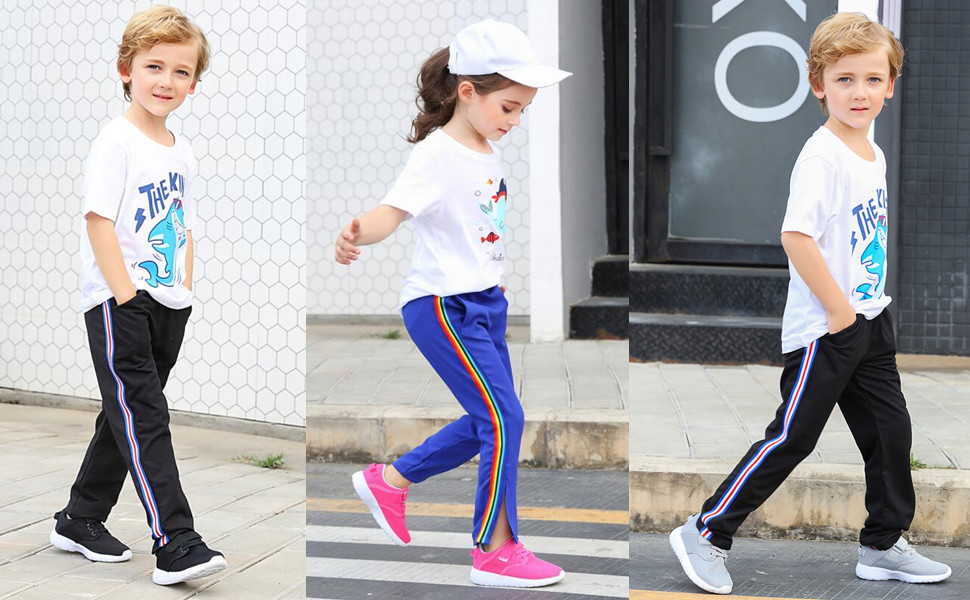 Boys Girls Sneakers Running Shoe