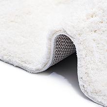 no shedding shag rug feature