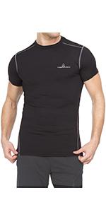 Thermajohn Men's Compression Short Sleeve Shirt