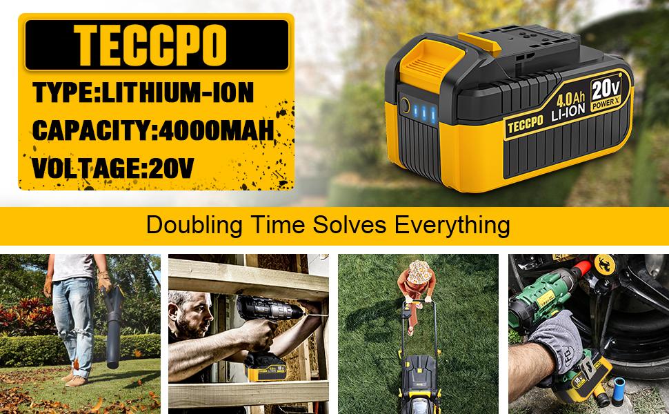 TECCPO 4.0Ah Battery Pack